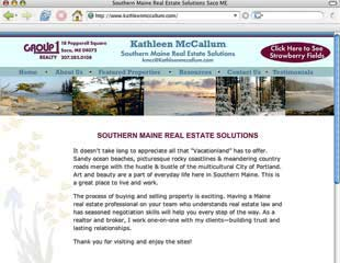 Home page for Kathy McCallum